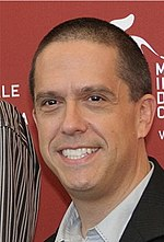 Photo of Lee Unkrich at the 2009 Venice Film Festival.