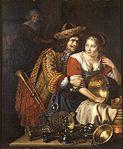 Leermans, Peter - Le Trompette et la Servante - 1794.jpg