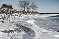 Leif Erikson Park, Duluth 1 8 18 -winter -ice -lakesuperior (38690640815).jpg