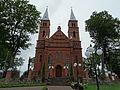 Leliūnai, bažnyčia, priekis.JPG