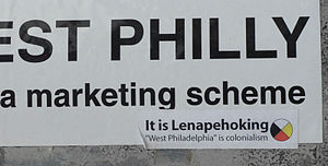 Lenapehoking - Sticker