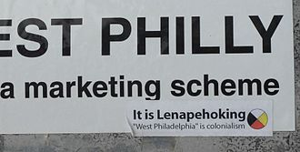 Lenapehoking - Sticker