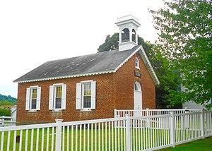 Lenhartsville, Pennsylvania - Image: Lenhartsville pa Borough Hall