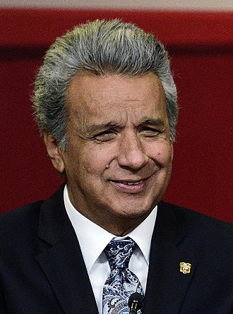 President of Ecuador - Image: Lenin Moreno, president of Ecuador