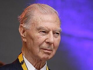 Leo Tindemans Belgian former prime minister