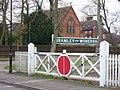 Level Crossing Gates, Bramley - geograph.org.uk - 663437.jpg