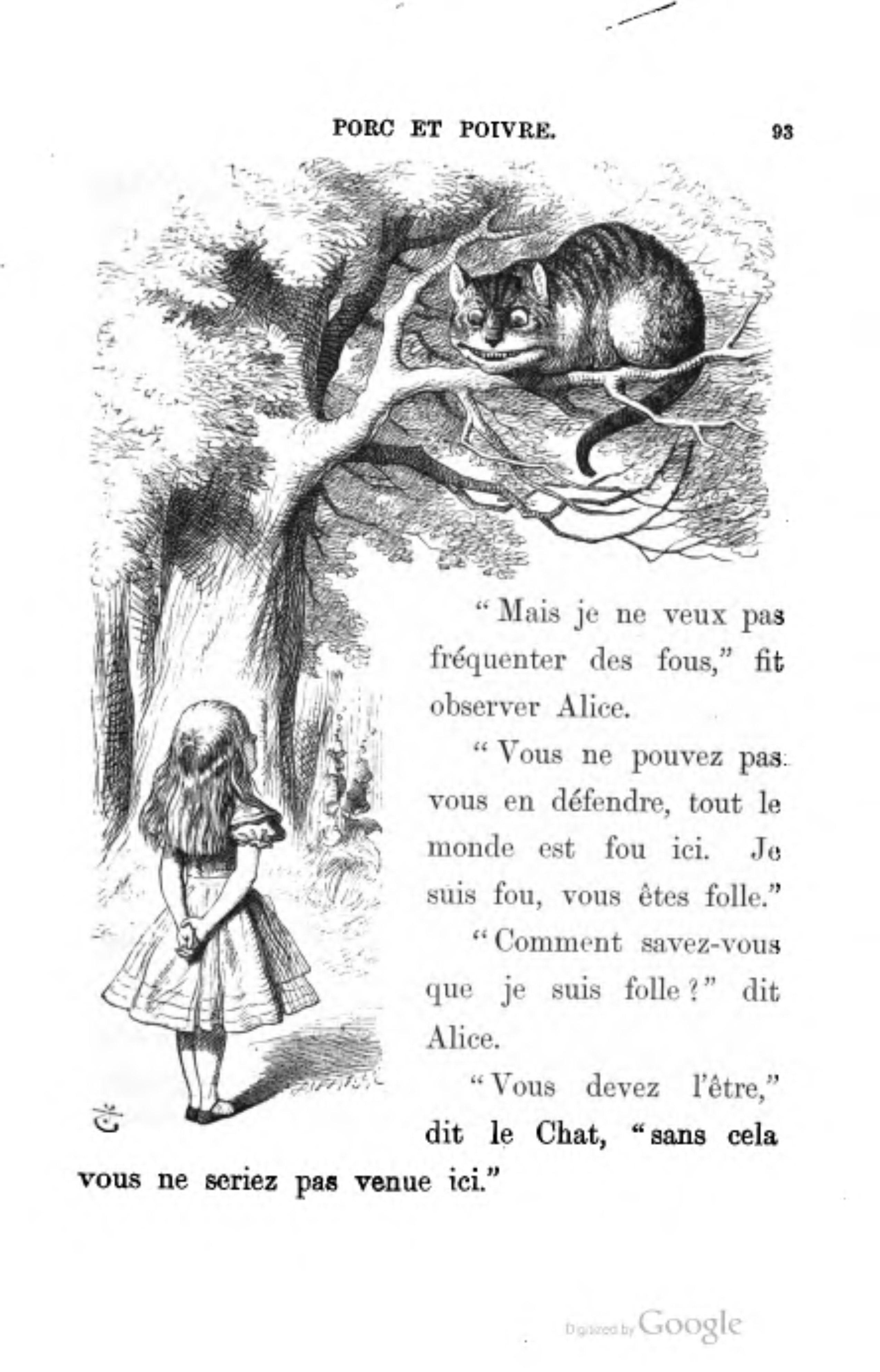 page lewis caroll - alice au pays des merveilles  traduction henri bu u00e9 djvu  113