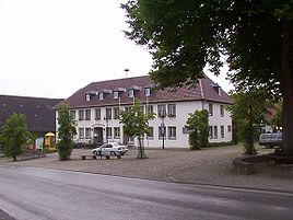 Town hall in Lichtenau
