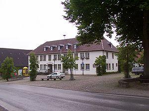 Lichtenau, Westphalia - Town hall in Lichtenau