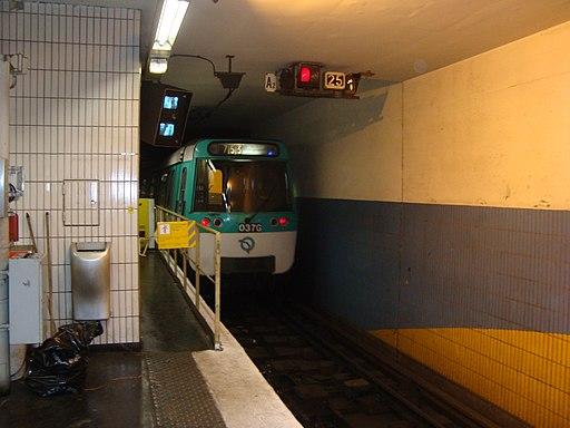 Ligne7-LC-rame vers garage