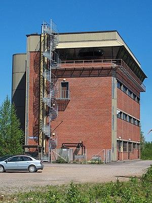 Pieksämäki railway station - The Pieksämäki traffic control center.