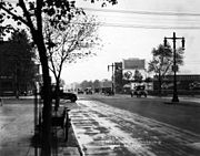 September 1920 photograph near the intersection of Broad Street and Northeast Boulevard in Philadelphia
