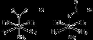 Linkage isomerism - Image: Linkage Isomers