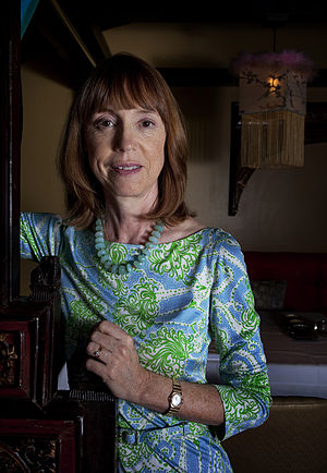 Lisa See - Lisa See in Madrid (2012), by Asís G. Ayerbe