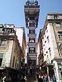 Lisbona, ascensore di Santa Justa IMG 20160903 125057 (29473926432).jpg
