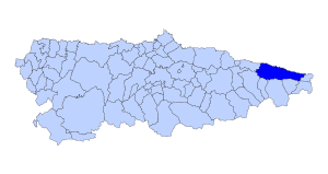Llanes Asturies map.svg