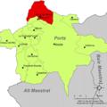 Localització de Sorita de Morella respecte dels Ports.png