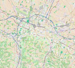 Mappa di localizzazione: Bologna