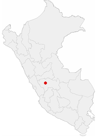 Location of the city of Tarma in Peru.png