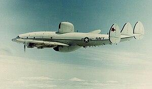 VQ-2 - A U.S. Navy Lockheed EC-121M Warning Star of VQ-2.