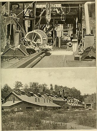 West Point Foundry - West Point Foundry, where the first American locomotive was built