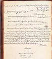Log of the USS United States August 18 1843 entry of Herman Melville O S as crew.jpg