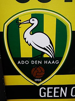 Logo of ADO Den Haag on a poster (17058468161).jpg