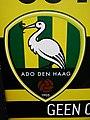Logo of ADO Den Haag on a poster (17058468161).jpg