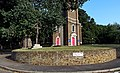 London-Woolwich, St Mary Magdalene Church & crucifix 1.JPG