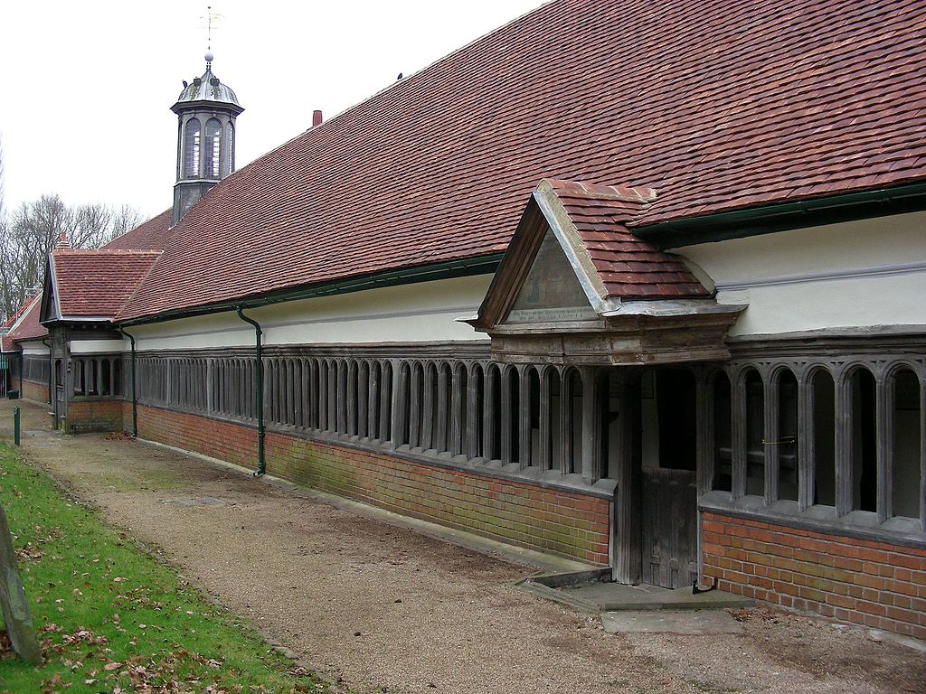 File long alley almshouses abingdon oxfordshire jpg