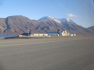Politics of Svalbard - Svalbard Airport, Longyear