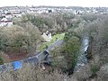 Looking down from the viaduct - geograph.org.uk - 1707052.jpg