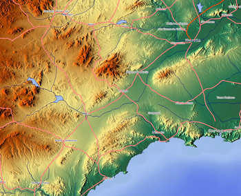 Map Of Spain Near Murcia.Lorca Spain Wikipedia
