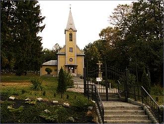 Lorinčík - Image: Lorinčík kostol panoramio
