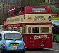 Lothian Buses open top tour bus Mac Tours Routemaster, 1 May 2010 (2).jpg