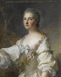 Louise de Lorraine, Duchess of Bouillon French noble