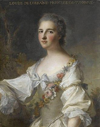 Princess of Turenne - Image: Louise de Lorraine, princesse de Turenne par Nattier