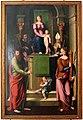 Luca longhi, madonna in trono col bambino tra i ss. benedetto, paolo, apollinare e barbara 01.jpg