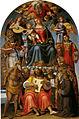 Luca signorelli, madonna col bambino e santi, arezzo.jpg