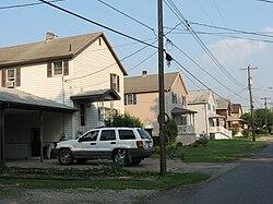 Lucernemines Pennsylvania Streets 3.JPG
