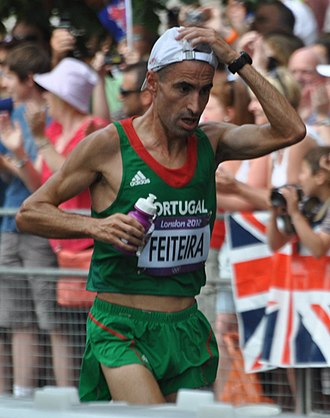 Portugal at the 2012 Summer Olympics - Luis Feiteira finished forty-eighth in men's marathon.
