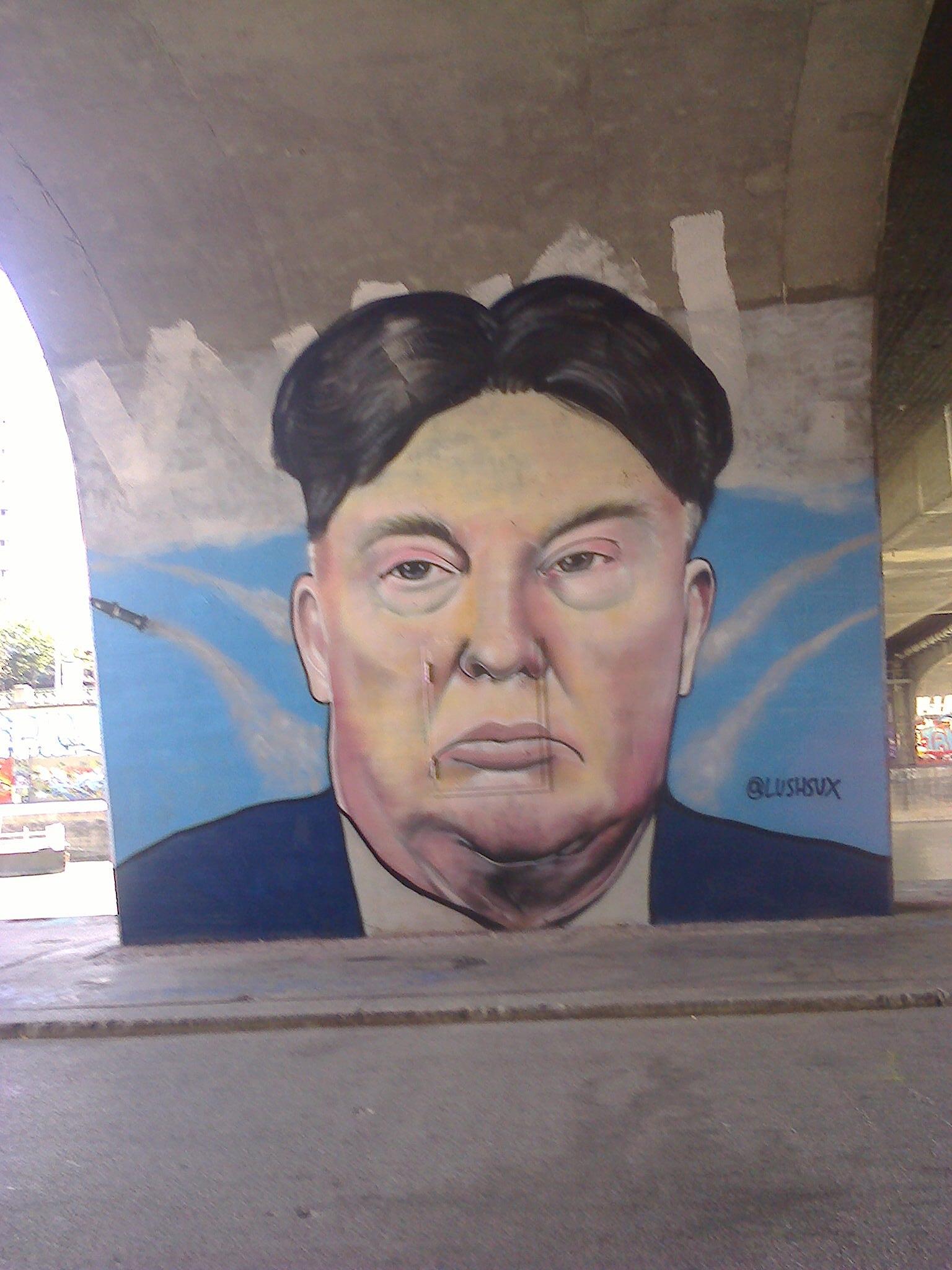 Картинки по запросу трамп ким чен ын