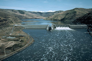 Lower Granite Dam Dam in Garfield / Whitman counties,Washington