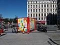 Lyon 2e - Place Bellecour, container Nuits sonores 2019 et trottinettes.jpg