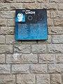 Lyon 7e - Berge Anna Lindh (quai Claude Bernard), plaque hommage.jpg