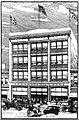 M. Rich Building on opening in 1907 - illustration from Atlanta Constitution 1907-04-28.JPG