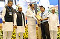 M. Venkaiah Naidu rewarded with performance incentive for promoting urban reforms under Atal Mission for Rejuvenation and Urban Transformation (AMRUT) during 2015-16, at a function, in New Delhi (2).jpg