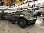 M20 scout car at Pueblo Weisbrod Aircraft Museum.jpg