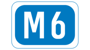 N6 road (Ireland) - Image: M6 reduced motorway IE
