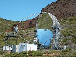 MAGIC Telescope - La Palma.JPG